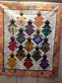 African fabric quilt by Diane Fulton | Stuff I've made | Pinterest ... : african quilts patterns free - Adamdwight.com