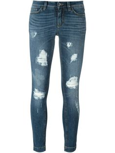 Compre Dolce & Gabbana Calça jeans skinny em O' from the world's best…