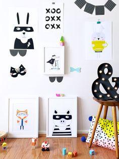 Nursery art Kids room art print nursery poster by PaperandPickles