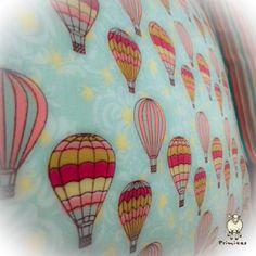 A fronha Viagem de Balão de perto é assim. www.primitas.com.br
