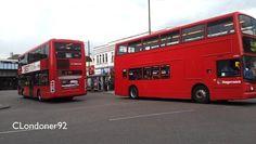 Bus observations at Romford, London - video dailymotion Red Bus, London Bus, London Transport, Buses, Transportation, Fan, Videos, Busses, Hand Fan