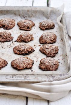 grain free chocolate coconut cookies