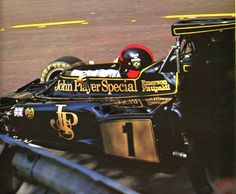 Emerson Fittipaldi (JPS - Lotus) - saison 1973 - L'Automobile, décembre 1973