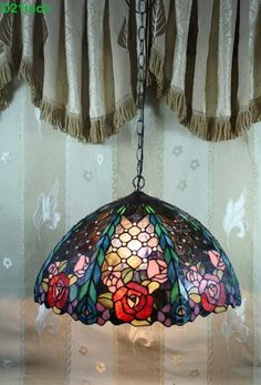 Rose Tiffany Lamp  20S0-260P11