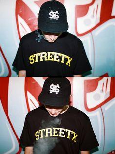StreetX Kill Bear Tee + StreetX x Ebbets ballcap. Ballcap is coming this winter!