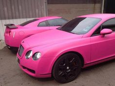 Find images and videos about pink, car and Bentley on We Heart It - the app to get lost in what you love. Luxury Sports Cars, Audi Sports Car, Cool Sports Cars, Sport Cars, Lamborghini, Ferrari, Bugatti, Amazing Cars, Custom Cars