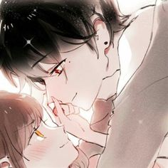 Anime Couples Drawings, Anime Couples Manga, Couple Drawings, Cute Anime Couples, Anime Cupples, Anime Chibi, Kawaii Anime, Anime Guys, Cute Anime Profile Pictures