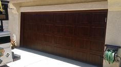 Windowless Walnut door in San Diego by Mark Christopher 888.870.4677