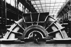 Britannic's turbine casting.