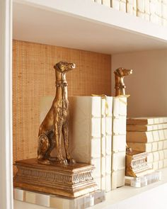 Greyhound Bookends, Neiman-Marcus $200. Add to the GH collection. NMF15_H7H8G
