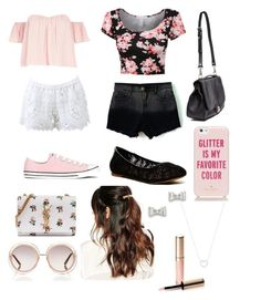 Spring Outing by madisonpearl on Polyvore featuring polyvore, fashion, style, River Island, Alexis, Lucky Brand, Converse, Yves Saint Laurent, Proenza Schouler, Marc by Marc Jacobs, Tiffany & Co., Suzywan DELUXE, Kate Spade, Chloé and By Terry