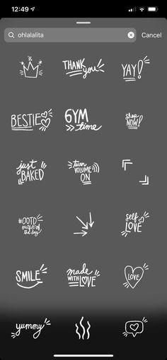 Instagram Hacks, Blog Instagram, Instagram Editing Apps, Instagram Emoji, Creative Instagram Stories, Instagram And Snapchat, Instagram Story Ideas, Instagram Quotes, Citations Instagram