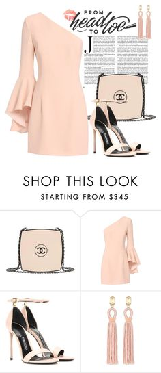"""""""Untitled #164"""" by anna-nedelcheva ❤ liked on Polyvore featuring Chanel, Exclusive for Intermix, Tom Ford and Oscar de la Renta"""