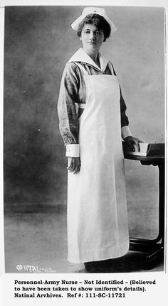 World War 1 Army nurse vintage. Vintage Nurse, Vintage Medical, World War One, First World, Women In History, British History, Ancient History, Nurses Day, Brave Women