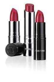 Merle Norman Red Lipstick in Hussy