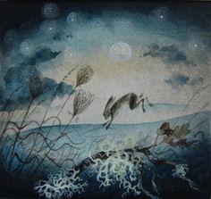 """Full Moon"" by Flora McLachlan"
