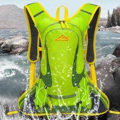 663b423b5d99 Huwaijianfeng Durable Waterproof Package Lightweight Travel Trekker Backpack  Sports Bag Spring travel essential Lightweight Travel Backpack