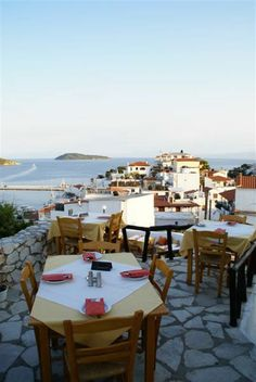 The Windmill restaurant in Skiathos Town - well worth the climb to watch sunset over the harbour Greece Vacation, Greece Travel, Beautiful Islands, Beautiful Places, Skiathos Island, Greece Fashion, Greece Islands, Windmill, Santorini