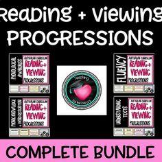 National LITERACY PROGRESSIONS Complete Bundle - Australian Curriculum