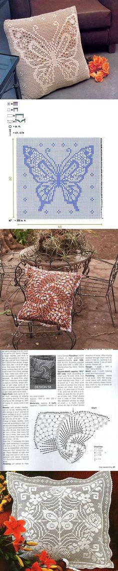 This Pin was discovered by Joa Filet Crochet Charts, Crochet Stitches Patterns, Crochet Diagram, Thread Crochet, Crochet Motif, Crochet Designs, Crochet Doilies, Crochet Home, Irish Crochet