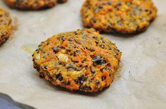 Beluga Black Lentil Burgers - Vegan Family Recipes