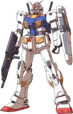 RX-78-7 Gundam - Front View