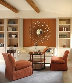 Burnt Orange And Brown Living Room Property 14 color palettes that work | orange paint colors, paint color
