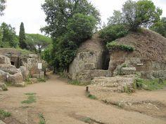 Cerveteri necropolis, Italy. Etruria