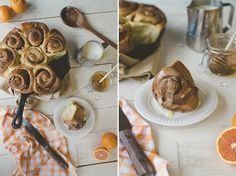Cinnamon Honey Buns | Buzzworthy Honey Recipes to Try by Pioneer Settler at http://pioneersettler.com/buzzworthy-honey-recipes-to-try/