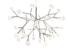 Heracleum Small light by Bertjan Pot was inspired by the little white flowers of the plant known more commonly as Hogweed