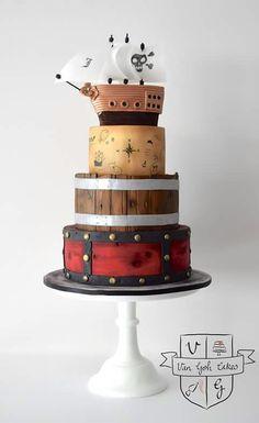 Pirate Cake by Van Goh Cakes, Australia
