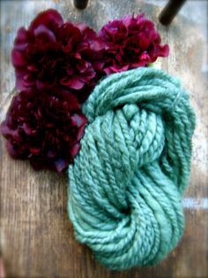Hollyhock: Greenish Side of Blue