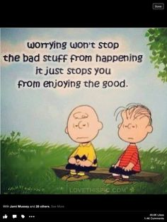 Let the worry go