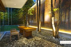 Bisazza Mosaics at Tulodong Residence, Jakarta.