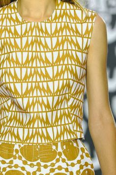 patternprints journal: PRINTS, PATTERNS AND DETAILS FROM S/S 14 WOMENSWEAR COLLECTIONS, LONDON FASHION WEEK / 5