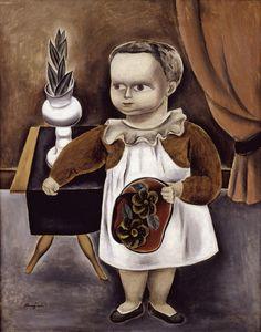 Yasuo Kuniyoshi, Child,1923