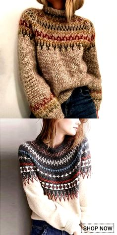 Bohemian Sweater Casual comfy sweater for women, warm and beautiful design you will need in autumn and winter, easy to match withe your shirt and blouses. Mode Boho, Winter Coats Women, Winter Wear, Sweater Outfits, Cardigans For Women, Pulls, Blouse Designs, Knitwear, Winter Fashion