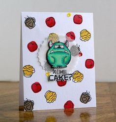 Monster Fun 4x6 Clear Stamp Set by Gerda Steiner Designs