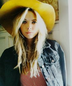 """Ashley Benson - """"Well, I'm really trying to be more fashionable. I really want to go to Paris Fashion Week. Paris is one of my favourite places in the world!"""""""