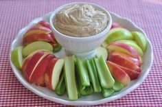 Creamy peanut butter fruit dip with simple ingredients and delicious results