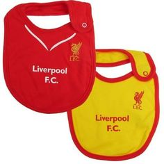 2f56bbf63e6 LIVERPOOL - 2 Pack Baby Bibs Liverpool F.C.2 pack baby bibs one size fits  all