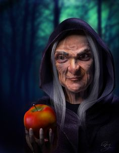Disney's Snow White - The Old Hag by Raylene