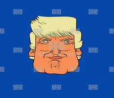 I thought I do some different expressions of Trump. Feel free to use it anywhere you want. Make him say crazy things, on cats bodies, where ever. Have some fun. Check out my Instagram and Twitter @stiktoonz and my Animation studio site www.stikanimation.com. Keep me informed about what you do with it. I'd love to see what you get up to.