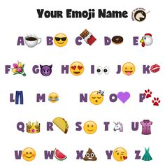 What is your emoji name?? Mine is the best:)