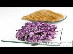 Hanácký salát z čerstvého zelí - videorecept - YouTube Salad Recipes, Waffles, Cabbage, Food And Drink, Make It Yourself, Vegetables, Breakfast, Ethnic Recipes, Youtube