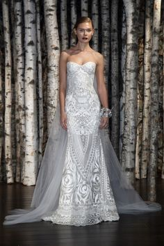 Naeem Khan Bridal Spring 2015 / View collection on The LANE