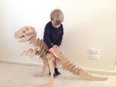 Zygote Brown Designs teaches you how to make fun DIY projects out of cardboard for your kids.