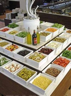 Afbeeldingsresultaat voor Hillside beach club in Fethiye and famous guests Salad Buffet, Salad Bar, Wedding Reception Appetizers, Edible Fruit Arrangements, Breakfast Catering, Food Set Up, Heavy Appetizers, Food Concept, Food Platters