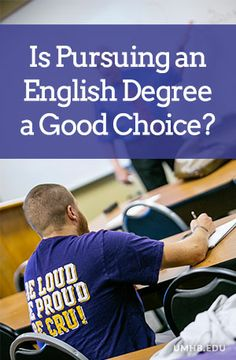 Is pursuing an #English degree in #college a good choice?