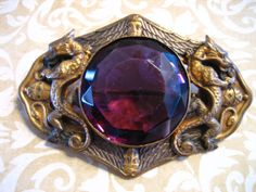 Large Antique Art Nouveau Edwardian Sash Pin by charmingellie, $195.00   Lovely!  @SusannaMagruder, you might want to see this!